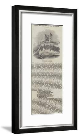 Norham Castle--Framed Giclee Print