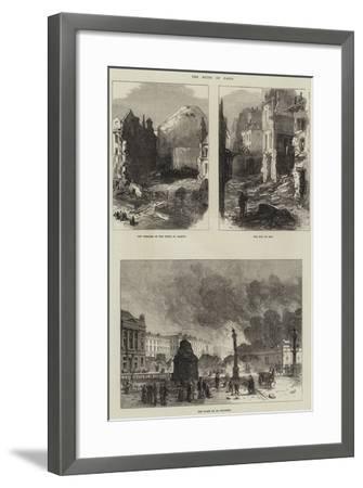 Paris Commune--Framed Giclee Print