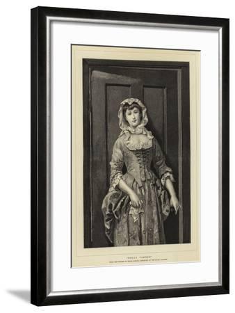 Dolly Varden--Framed Giclee Print
