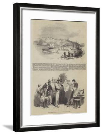 The Canadas--Framed Giclee Print