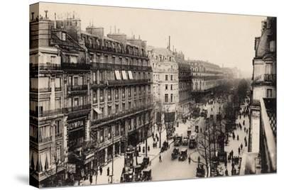 The Olympia Theatre, Boulevard Des Capucines, Paris, 1910--Stretched Canvas Print