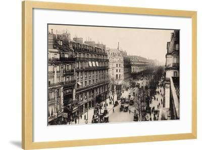 The Olympia Theatre, Boulevard Des Capucines, Paris, 1910--Framed Giclee Print