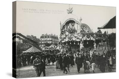 La Foire Du Trône, Place De La Nation, Paris, C.1905--Stretched Canvas Print