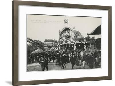 La Foire Du Trône, Place De La Nation, Paris, C.1905--Framed Giclee Print
