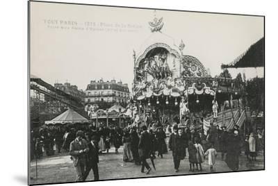 La Foire Du Trône, Place De La Nation, Paris, C.1905--Mounted Giclee Print