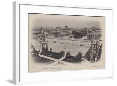 Paris, Le Nouveau Louvre--Framed Giclee Print