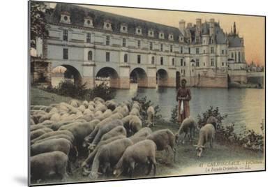 Chenonceaux, Le Chateaux, La Facade Orientale--Mounted Giclee Print