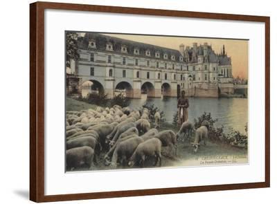 Chenonceaux, Le Chateaux, La Facade Orientale--Framed Giclee Print