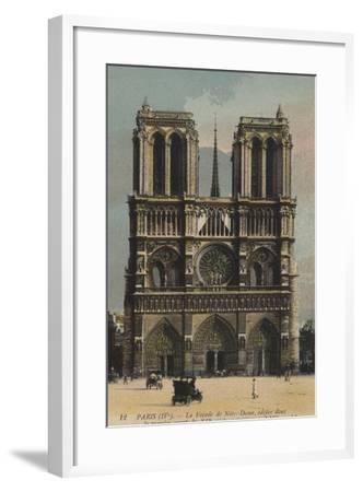 Paris, Notre Dame--Framed Giclee Print