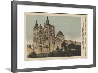 Angouleme, Charente, Cathedrale Saint-Pierre--Framed Giclee Print