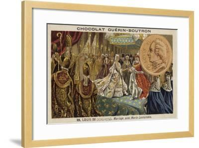The Marriage of Louis XV of France and Marie Leszczynska, 1725--Framed Giclee Print