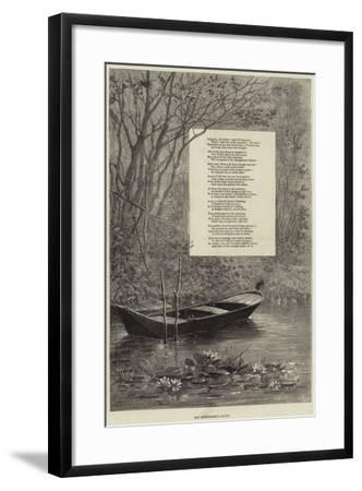 The Kingfisher's Haunt--Framed Giclee Print