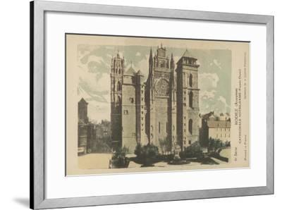 Rodez, Aveyron, Cathedrale Notre-Dame--Framed Giclee Print