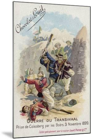 Capture of Colesberg by the Boers, 3 November 1899--Mounted Giclee Print