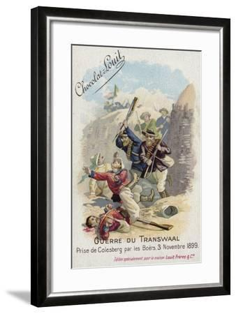 Capture of Colesberg by the Boers, 3 November 1899--Framed Giclee Print