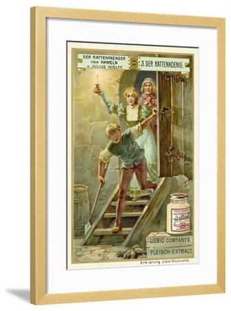 The Rat King--Framed Giclee Print