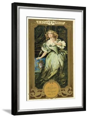 Marquise De Sevigne, French Writer--Framed Giclee Print