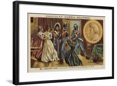 Arrest of the Duchess of Berry, 1832--Framed Giclee Print