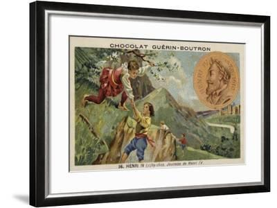 The Youth of Henry IV of France--Framed Giclee Print