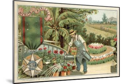 Agricultural Merit Medal--Mounted Giclee Print