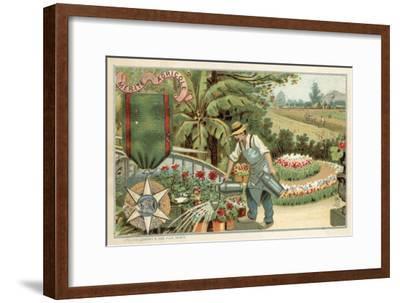 Agricultural Merit Medal--Framed Giclee Print