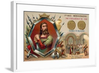 Deposition of Childeric III, 752--Framed Giclee Print