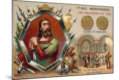 Deposition of Childeric III, 752--Mounted Giclee Print