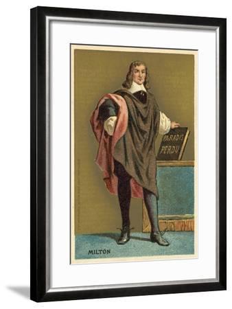 John Milton, English Poet--Framed Giclee Print
