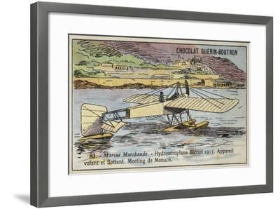 Bleriot Floatplane, 1913--Framed Giclee Print