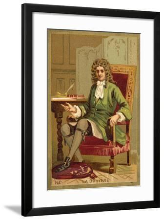 Jean De La Bruyere, French Philosopher--Framed Giclee Print