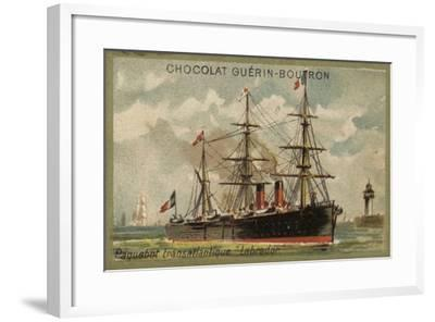 Transatlantic Liner Labrador--Framed Giclee Print