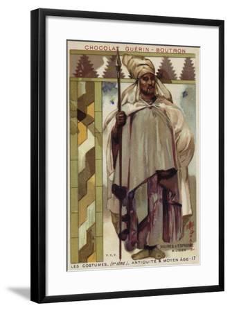 Moorish Soldier from Spain--Framed Giclee Print