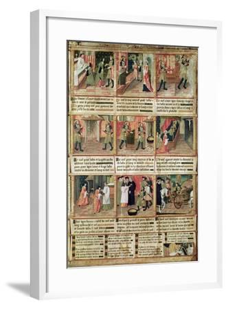 Miracle of the Profanation of the Host--Framed Giclee Print