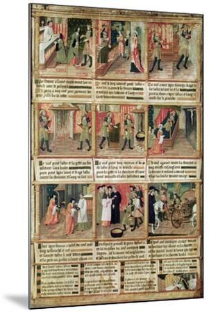 Miracle of the Profanation of the Host--Mounted Giclee Print