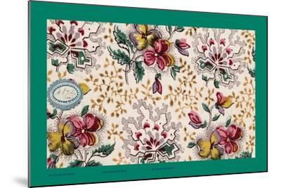 French Fabrics, 1800-50--Mounted Giclee Print