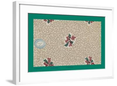French Fabrics, 1800-50--Framed Giclee Print