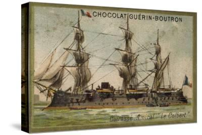 French Ironclad Colbert--Stretched Canvas Print