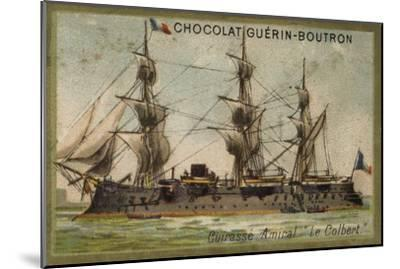 French Ironclad Colbert--Mounted Giclee Print