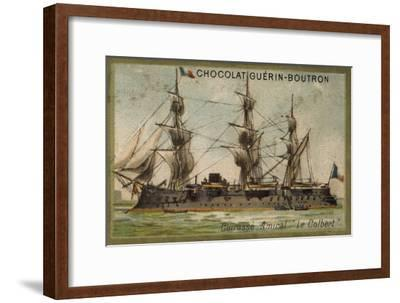 French Ironclad Colbert--Framed Giclee Print