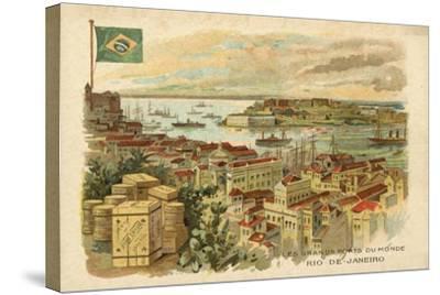 Rio De Janeiro, Brazil--Stretched Canvas Print