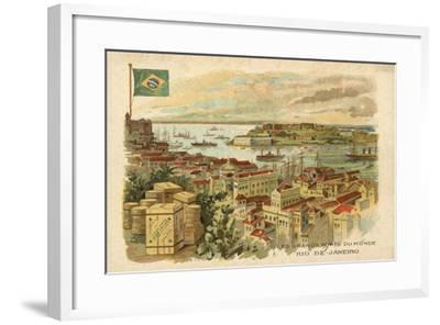 Rio De Janeiro, Brazil--Framed Giclee Print