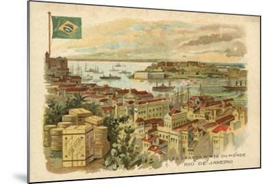 Rio De Janeiro, Brazil--Mounted Giclee Print