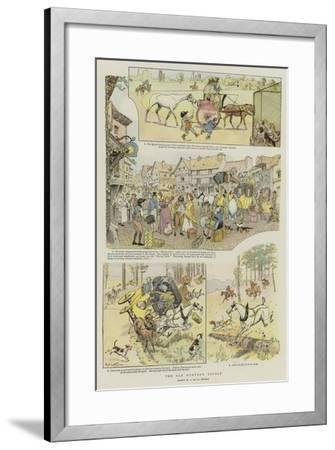 The Old Hunter's Revolt--Framed Giclee Print