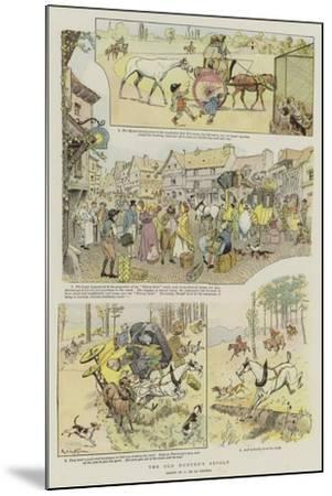 The Old Hunter's Revolt--Mounted Giclee Print