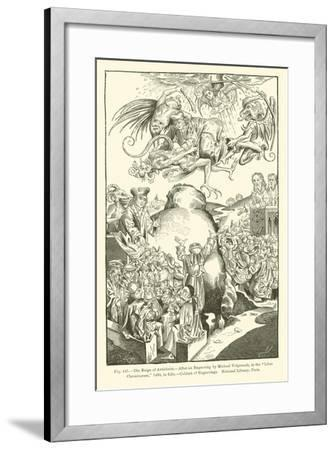 The Reign of Antichrist--Framed Giclee Print