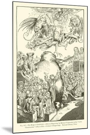 The Reign of Antichrist--Mounted Giclee Print