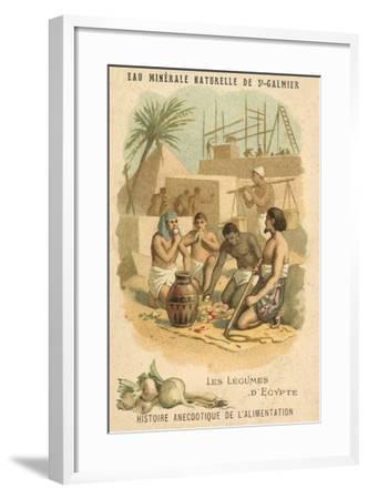 The Vegetables of Egypt--Framed Giclee Print