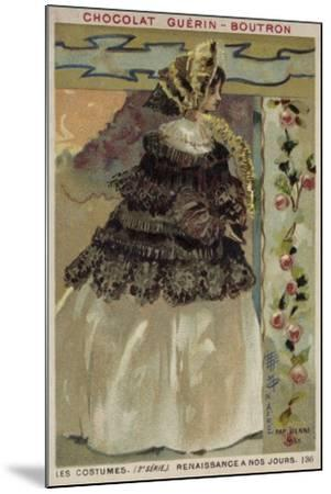 Parisian Fashion, 1855--Mounted Giclee Print