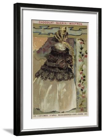 Parisian Fashion, 1855--Framed Giclee Print
