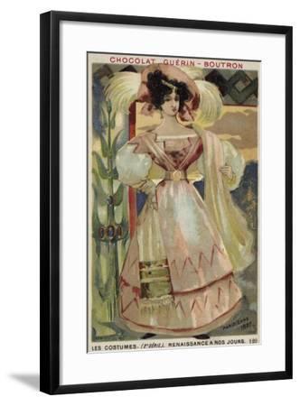 Parisian Fashion, 1827--Framed Giclee Print